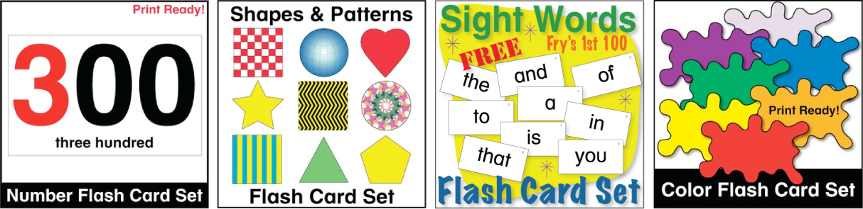Donald's English Classroom Free Flash Cards