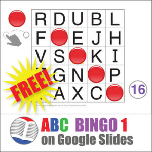ABC Bingo on Google Slides