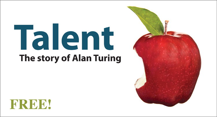 Talent - The Story of Alan Turing- Kinney Brothers Publishing