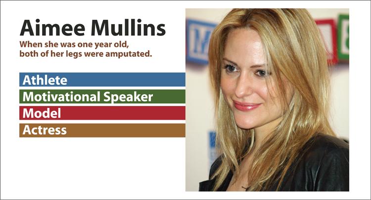 Aimee Mullins- Kinney Brothers Publishing