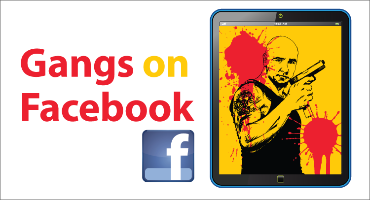 Gangs on Facebook- Kinney Brothers Publishing