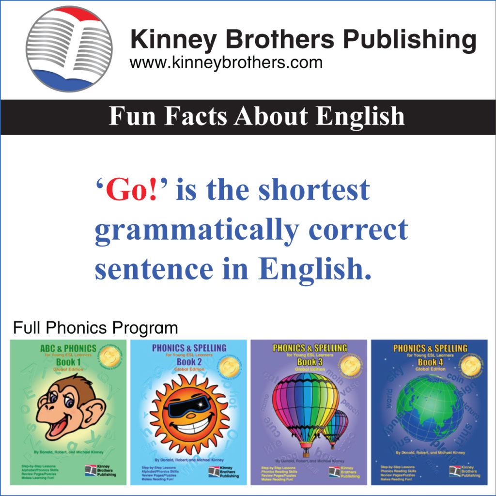 Fun Facts About English 3 Kinney Brothers Publishing