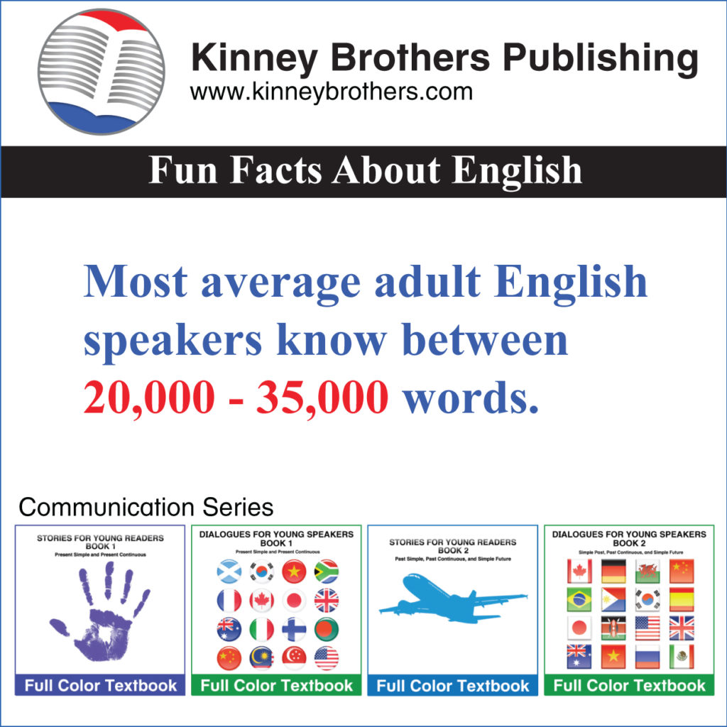 Fun Facts About English #17 Kinney Brothers Publishing