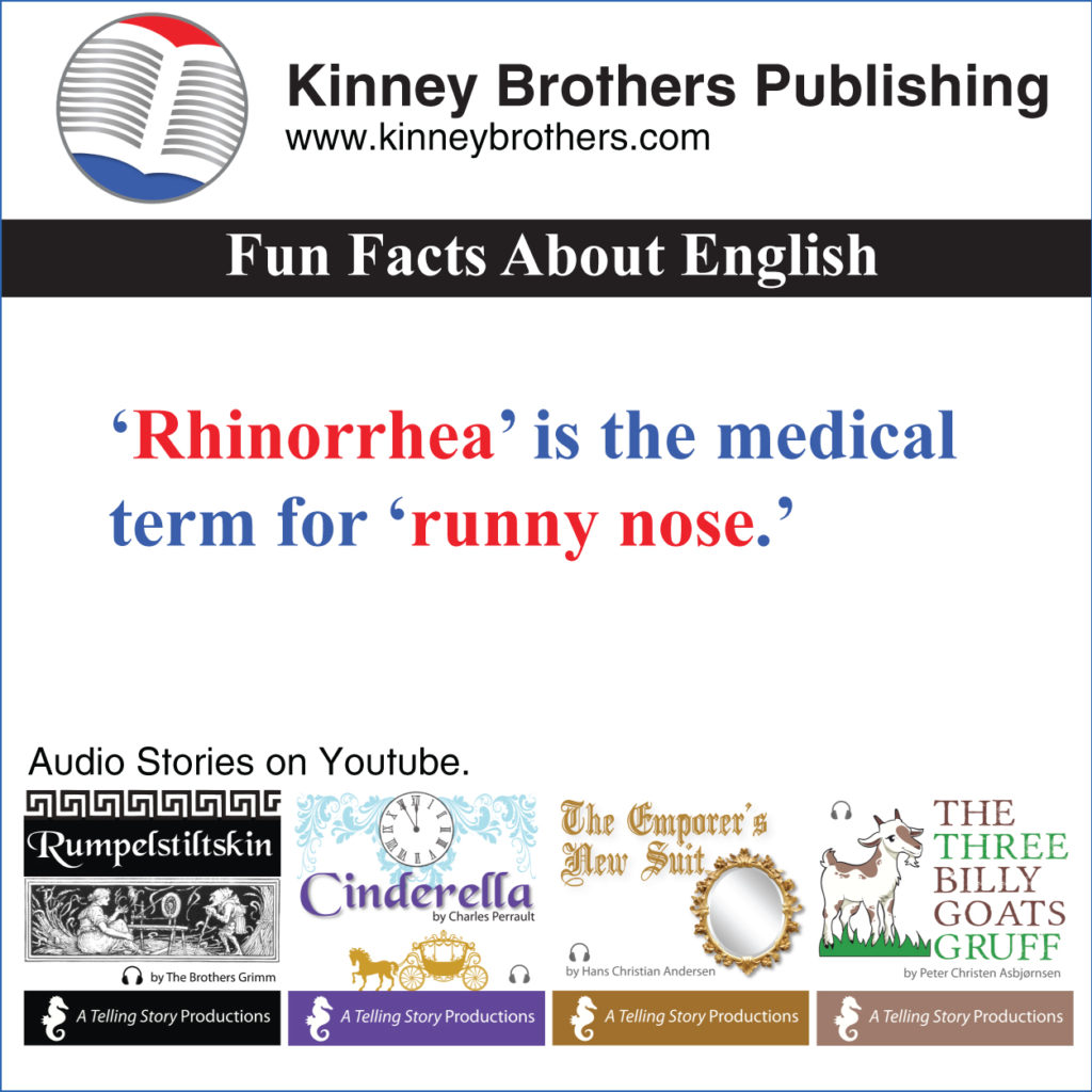 Fun Facts About English 20 Kinney Brothers Publishing