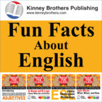 Fun Facts About English  Kinney Brothers Publishing