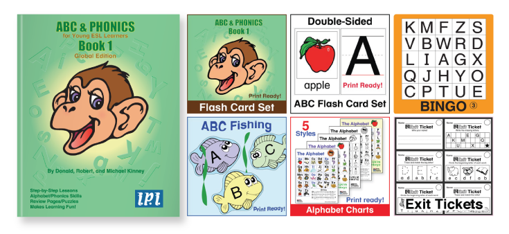 ABC and Phonics Kinney Brothers Publishing