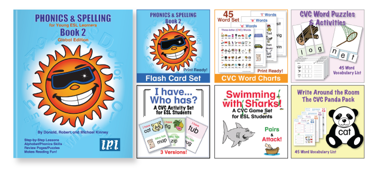 Phonics and Spelling Book 2 Kinney Brothers Publishing