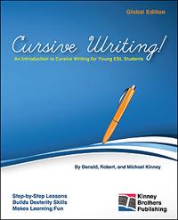Cursive Writing! Kinney Brothers Publishing