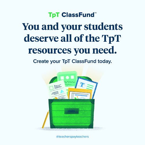 TpT ClassFund Kinney Brothers Publishing
