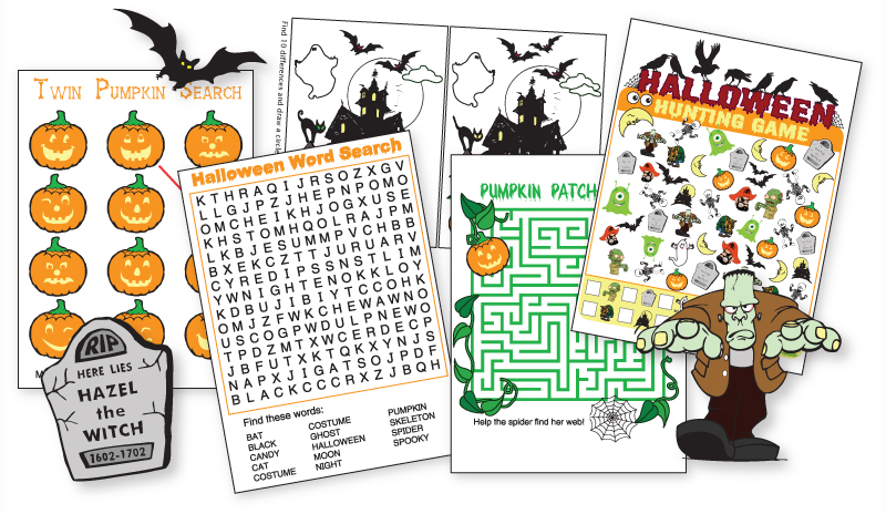 Halloween Games Kinney Brothers Publishing