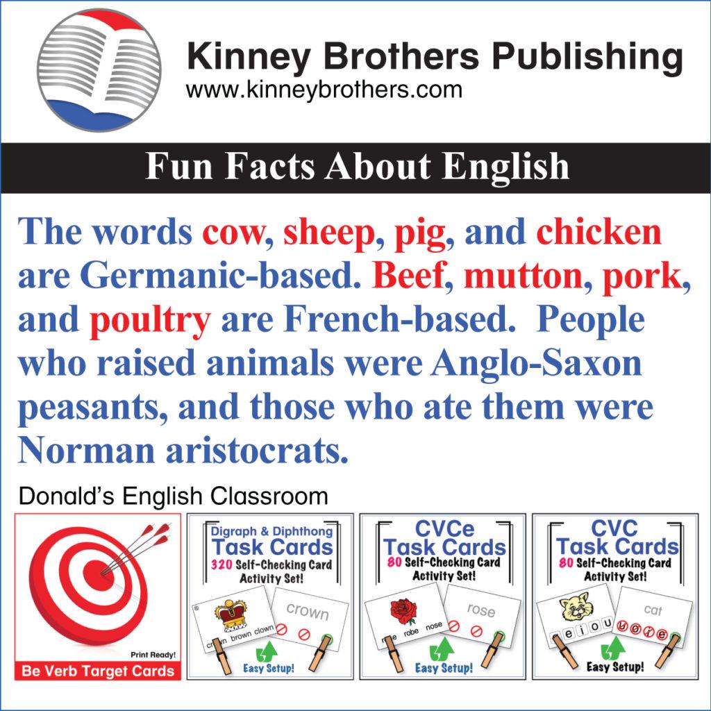 Donald's English Classroom Kinney Brothers Publishing