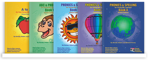 Phonics and Spelling Kinney Brothers Publishing