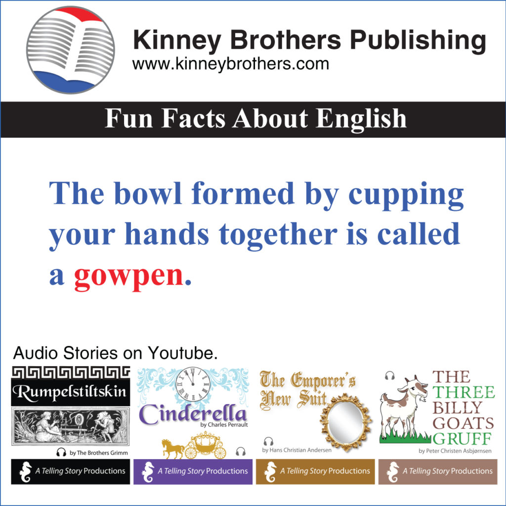 Fun Facts About English 62 Kinney Brothers Publishing