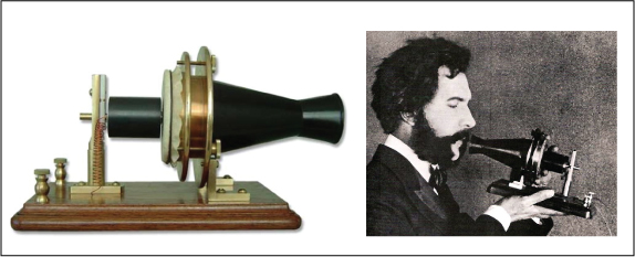 Alexander Graham Bell's early telephone Kinney Brothers Publishing